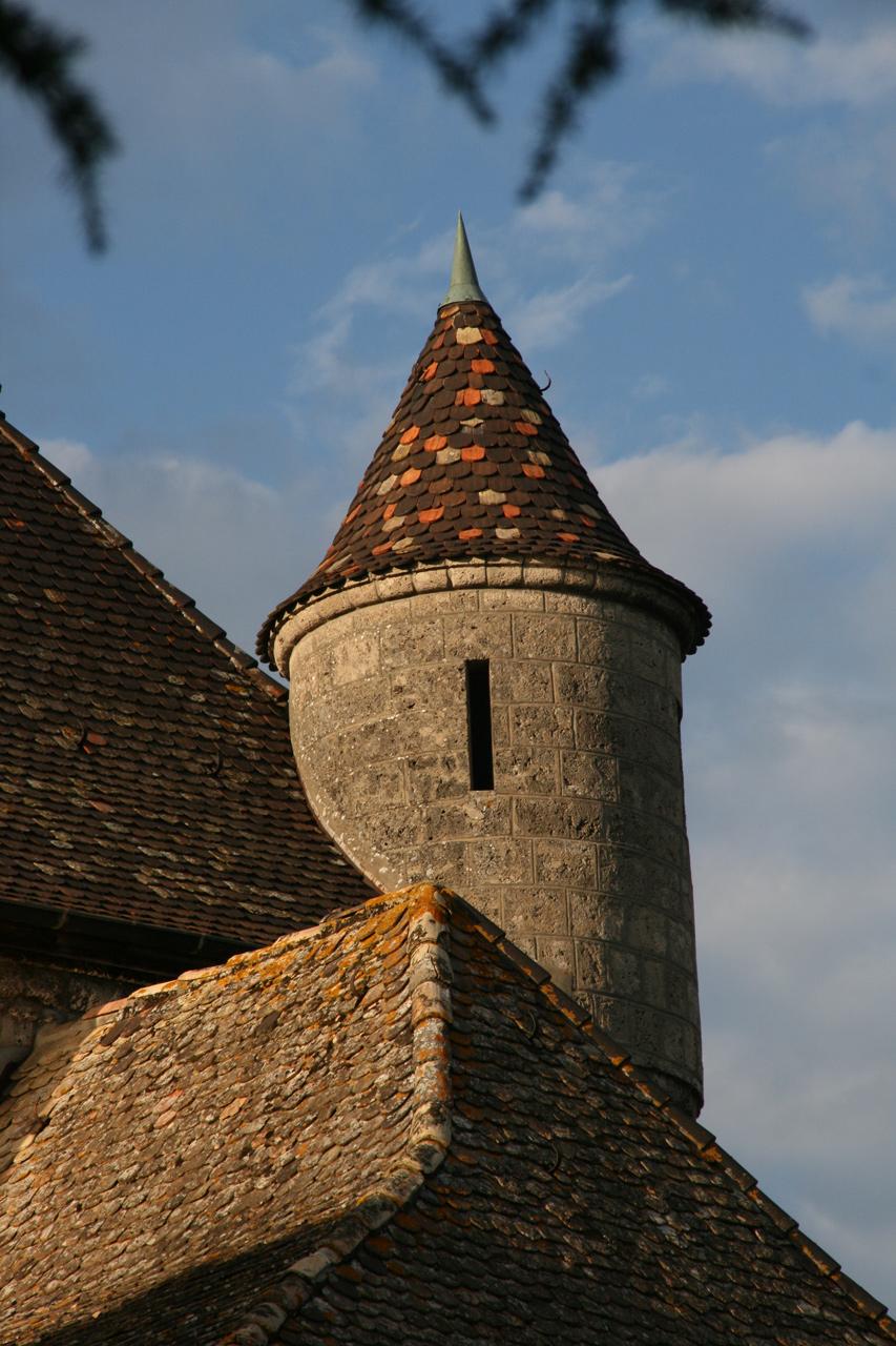 Echauguette du château d'Yvoire.