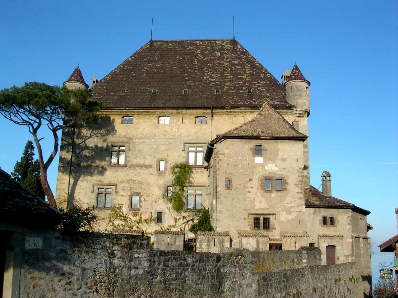 Le château d'Yvoire, figure incontournable du village.